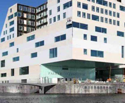 Gerechtshof Amsterdam: Inrichting facilitaire voorzieningen, bouwbegeleiding, ontwerpen inrichting, coördineren verhuizing en afstoot oude pand