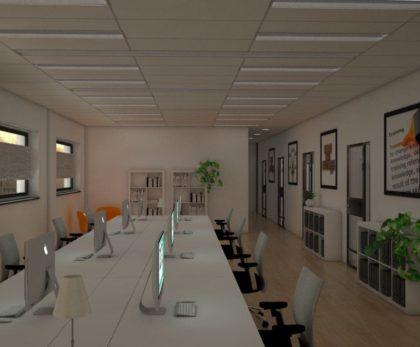 SENS: Bouwbegeleiding, design nieuw interieur en begeleiden van verhuizing
