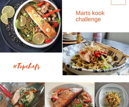 Recept Marts kook challenge